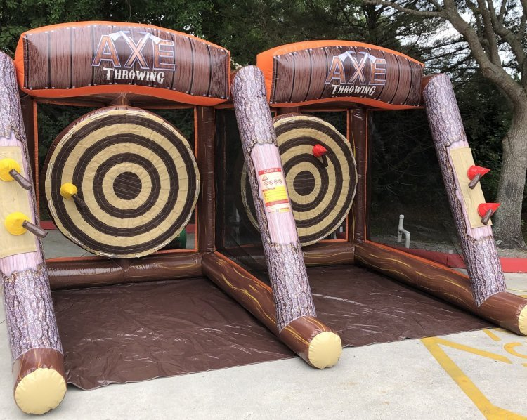 "^Lumberjack (axe throwing) *(16'L x 10'W x 8'7""H)"