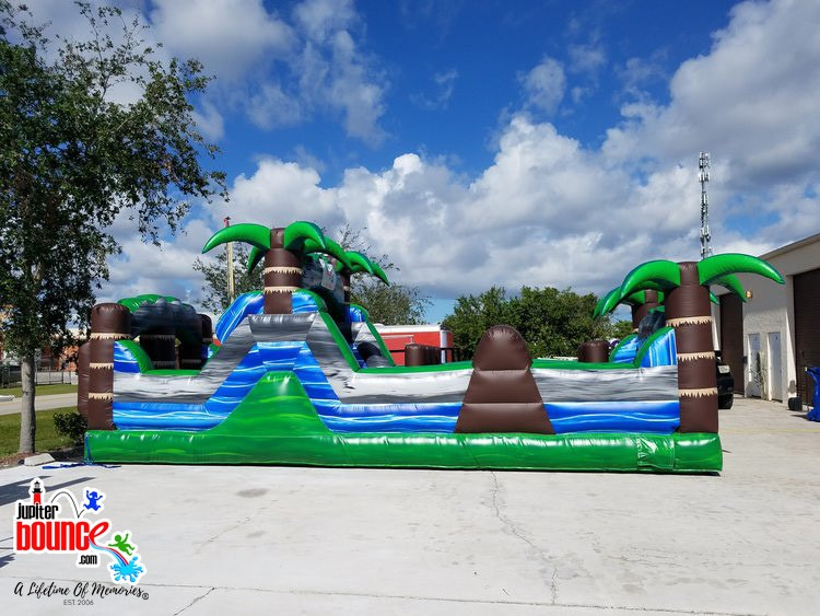 30' Blue Crush Obstacle Course