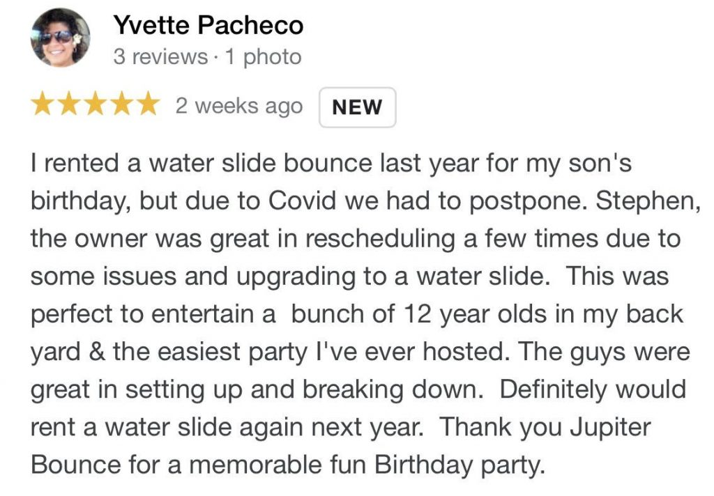 review 7 Water Slides