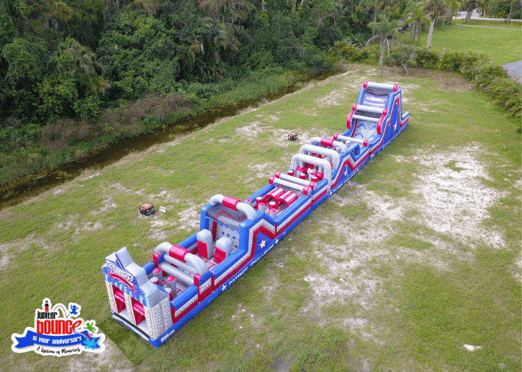 NEW 100' Patriot Challenge Obstacle Course